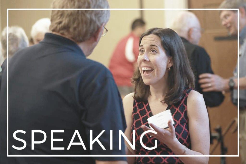 SPEAKING | Laura Kelly Fanucci