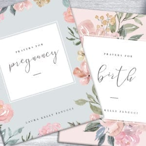 Prayers for Pregancy + Birth ebook combo set by Laura Kelly Fanucci